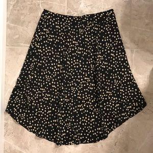 FOREVER21 Polkadot HighLow Skirt